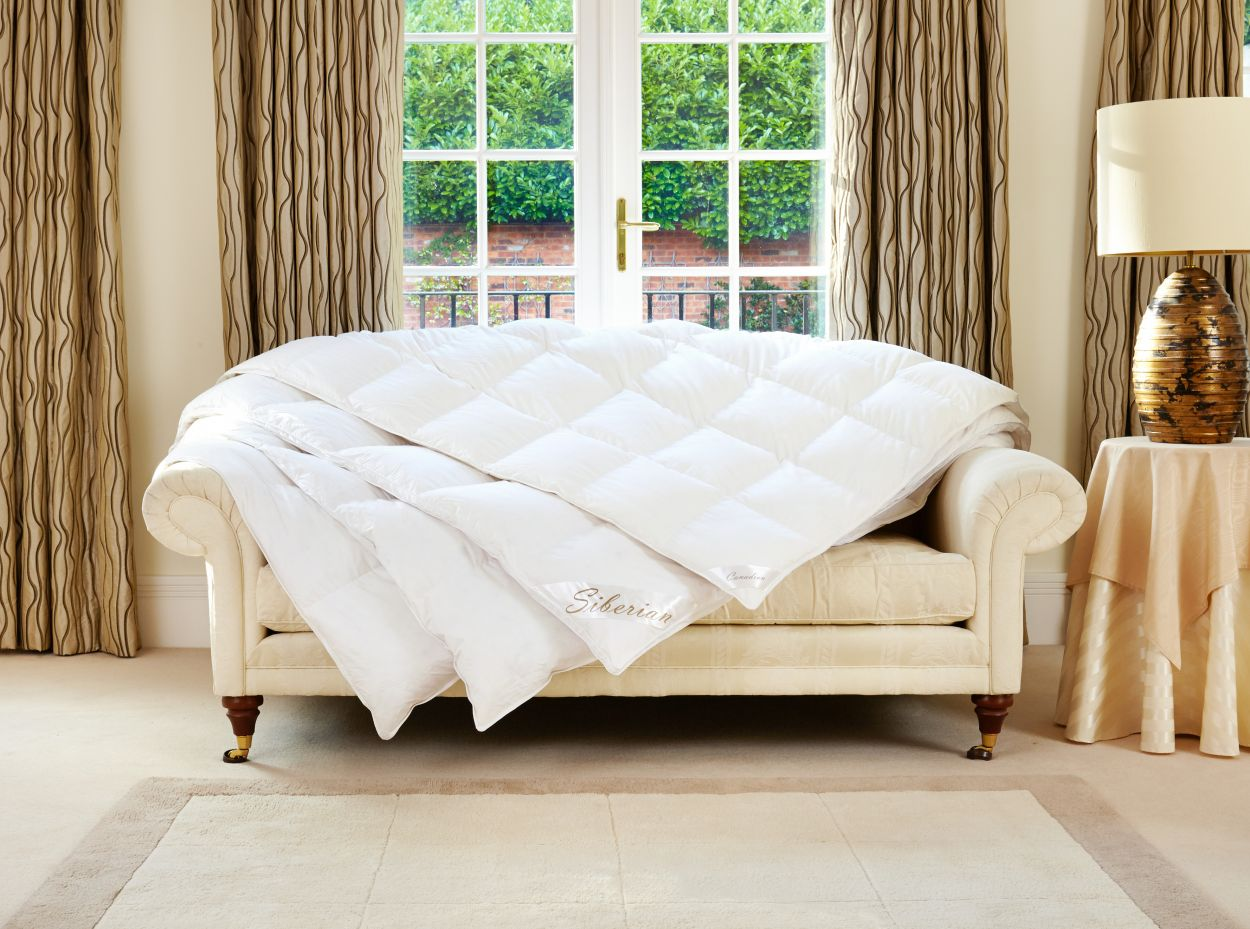 Canadian White Goose Down Duvet