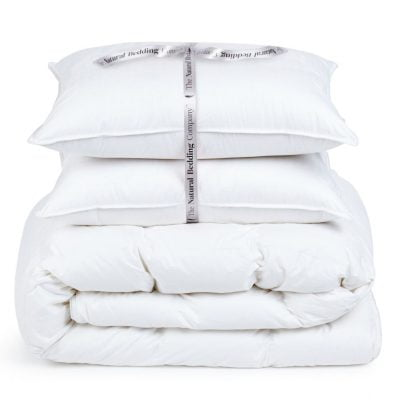 deluxe canadian goose down duvet and pillows