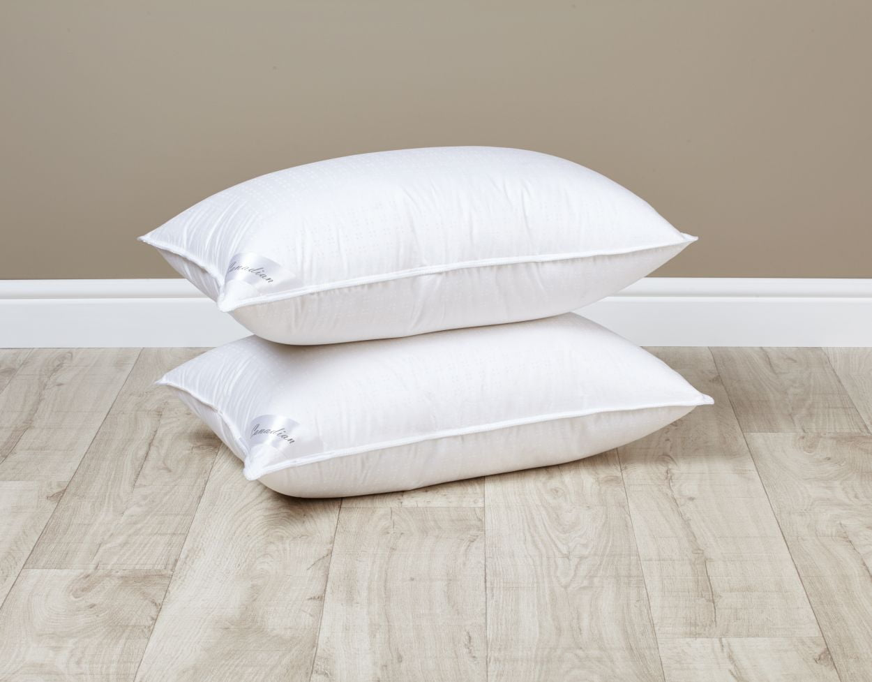 Canadian White Goose Down Pillow Super Luxurious Pillow