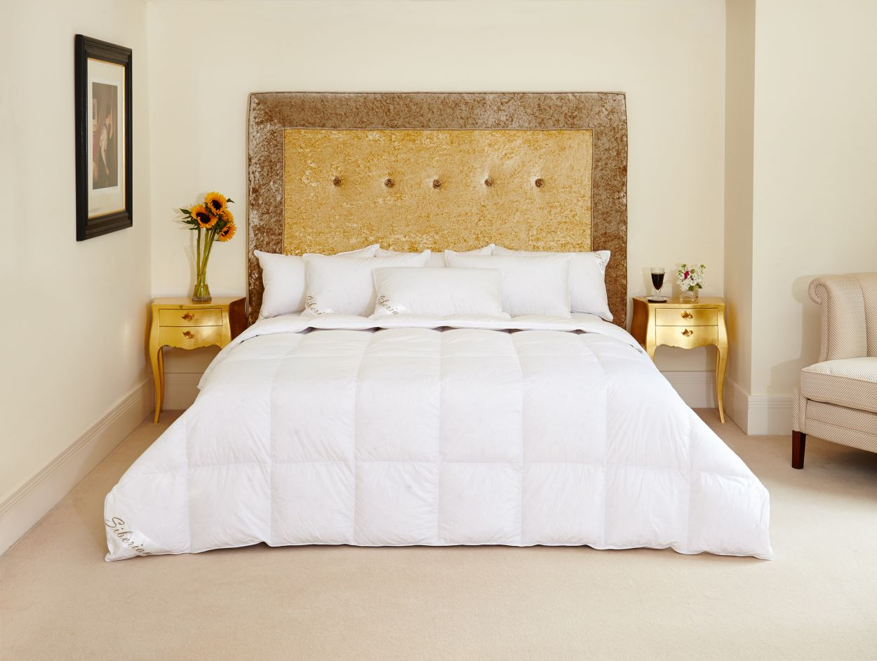 Luxury Siberian Goose Down Duvet The Natural Bedding Company