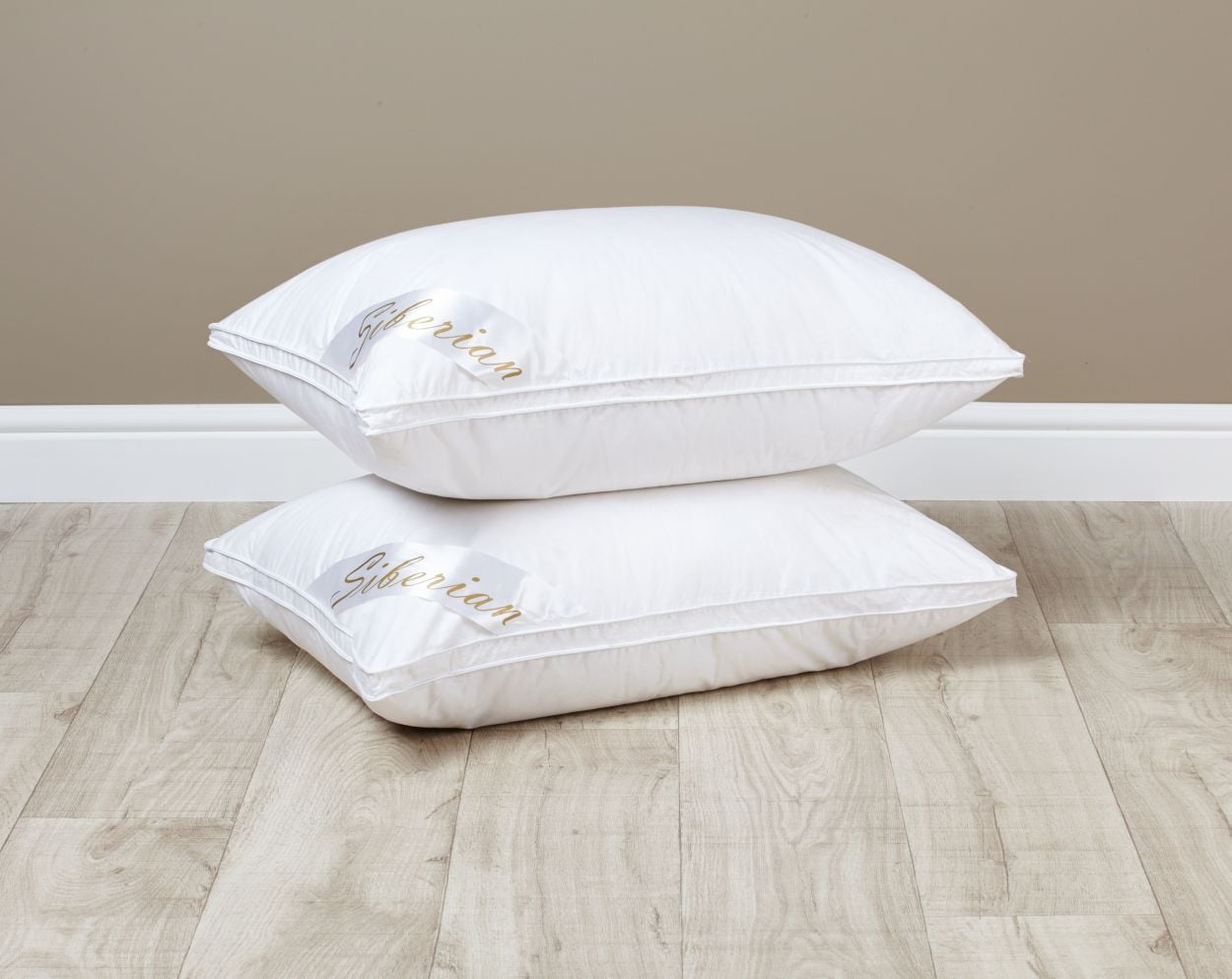 Siberian White Goose Down Pillow The Natural Bedding Company