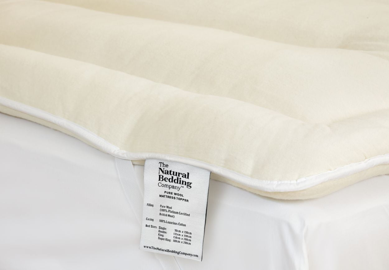 Wool Mattress Topper The Natural Bedding Company
