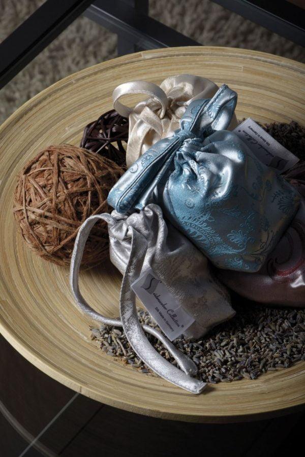 silk lavender bags