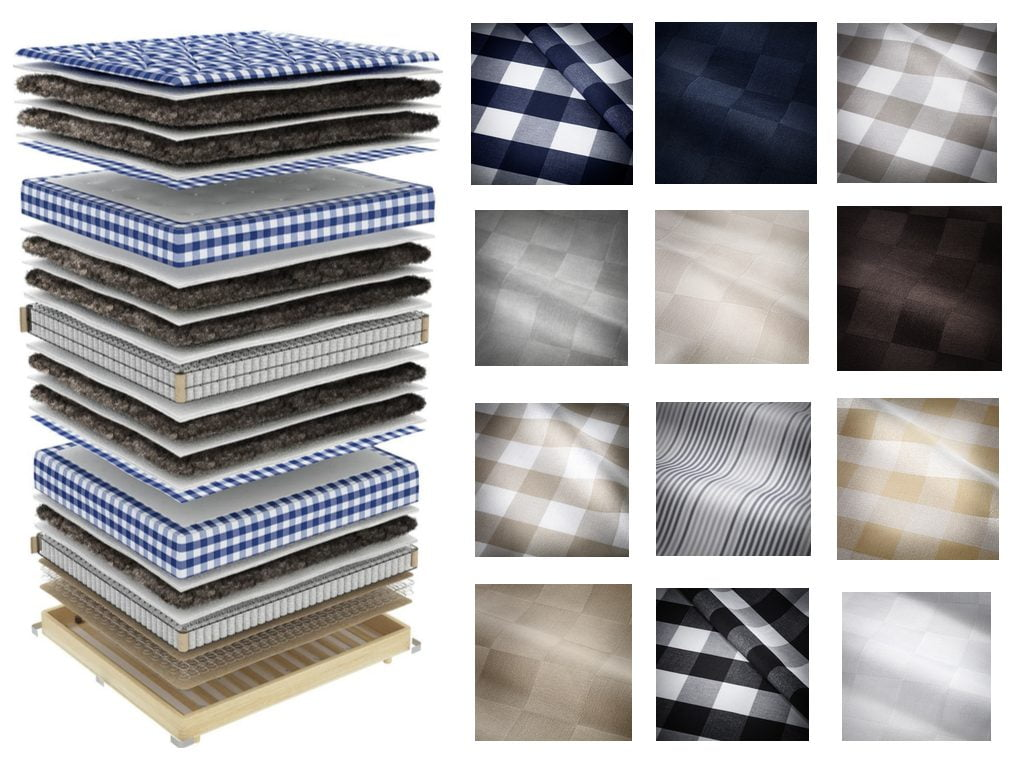 Win a Hästens Bed Competition fabric choices