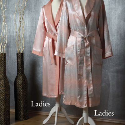 Ophelia and Helios Desert Flower dressing Gown