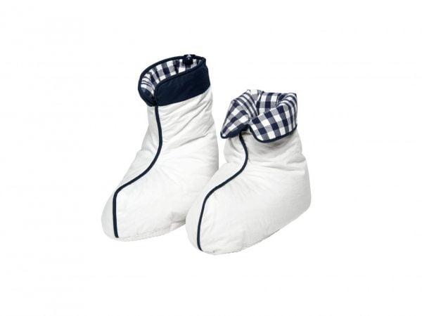 Hastens Down Boots White Medium
