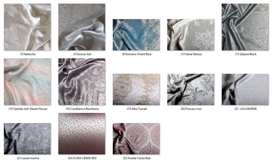 Jacquard Silk Fabrics