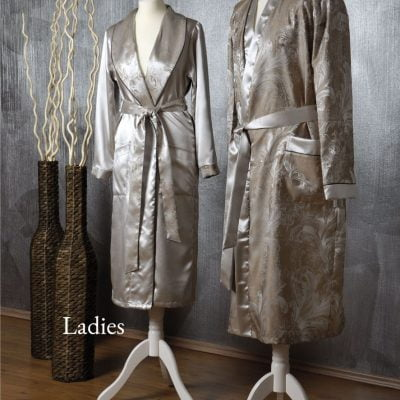 Royal Silk Dressing Gown