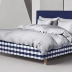 Hastens bed linen satin pure grey