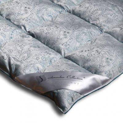 Silk Duvet - Orient Blue lifestyle