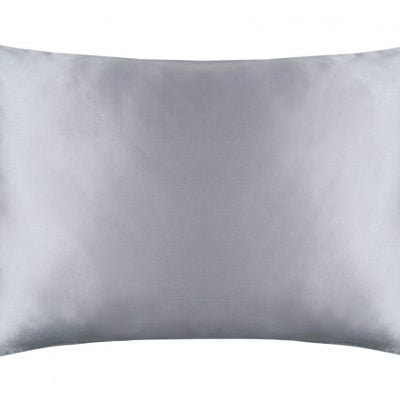 silk pillowcase ivory and platinum