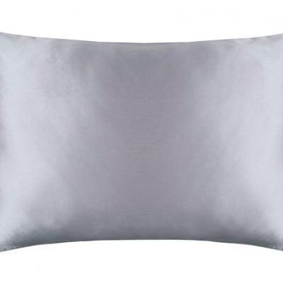 silk pillowcase ivory and platinum