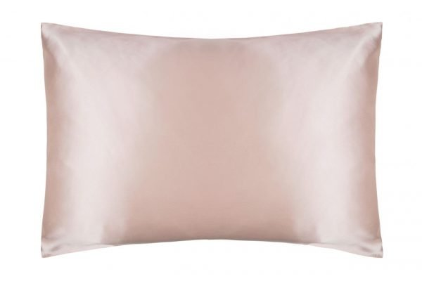 silk pillowcase powder pink