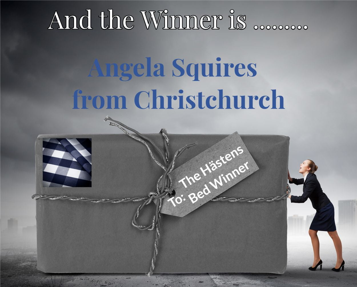 win a hastens bed winner