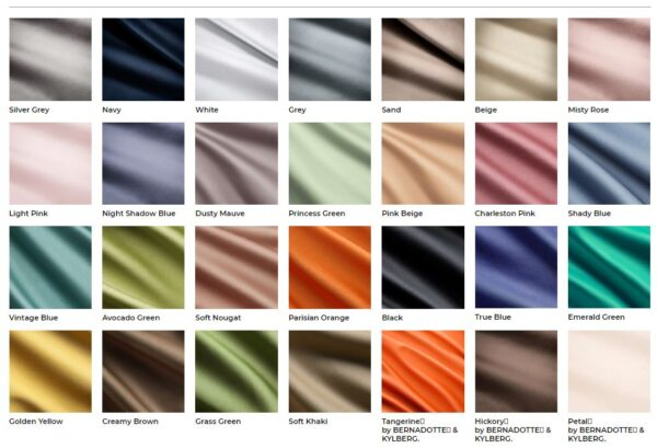 Hastens Satin Pure Fitted Sheet fabrics