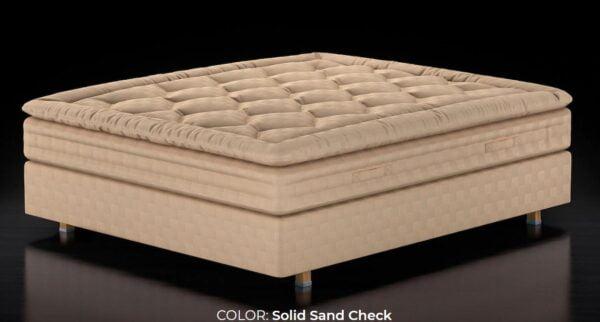 Solid Sand Mattress Topper