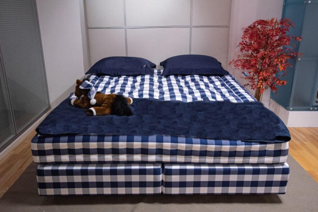 Hastens bed showroom