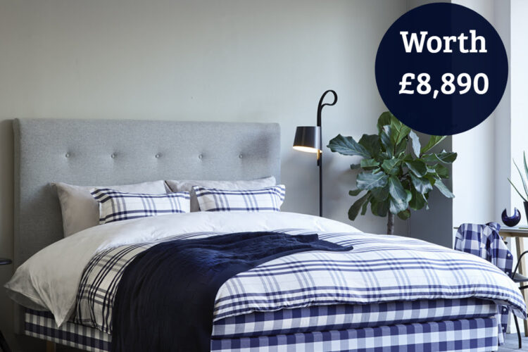 Win a Hastens Bed Hastens Notting Hill